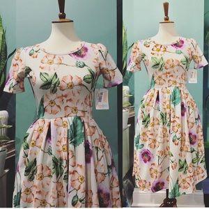 Lula Roe floral dress